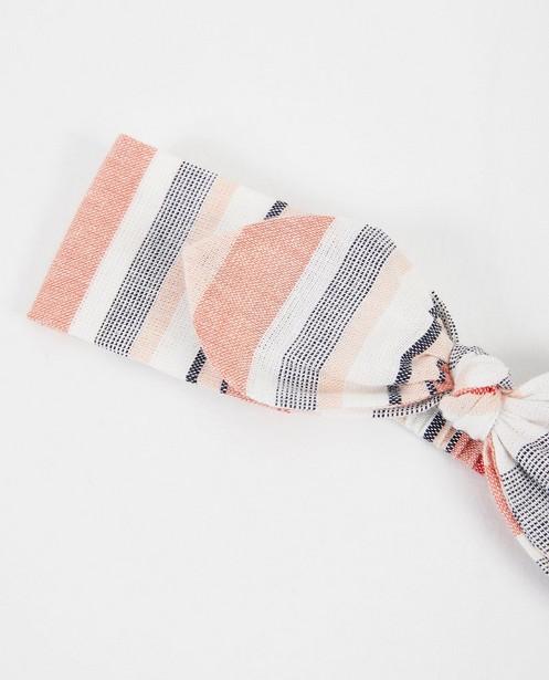 Bonneterie - Bandeau rose avec nœud papillon