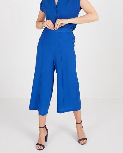 Pantalon bleu cobalt Sora