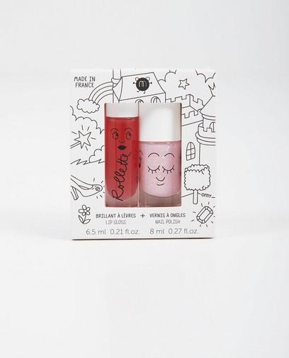 Set: Lipgloss + Nagellack Nailmatic