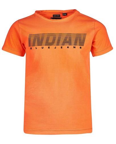 T-shirt orange Indian Blue Denim