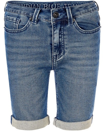 Bermuda bleu Indian Blue Jeans