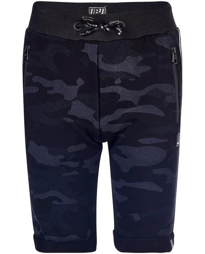 Short molletonné noir Indian Blue Jeans