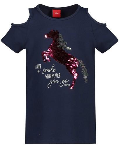 T-shirt à paillettes s.Oliver