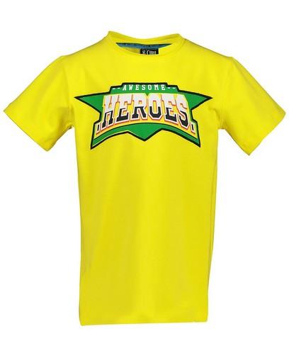 Geel T-shirt met print B'Chill