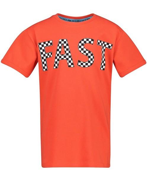 T-shirt orange B'Chill - à inscription - B'Chill