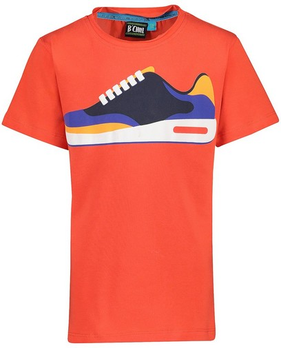 Rotes T-Shirt mit Print B'Chill