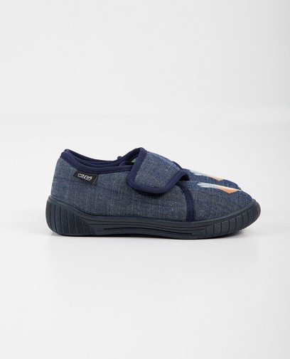 Blauwe pantoffels Wickie