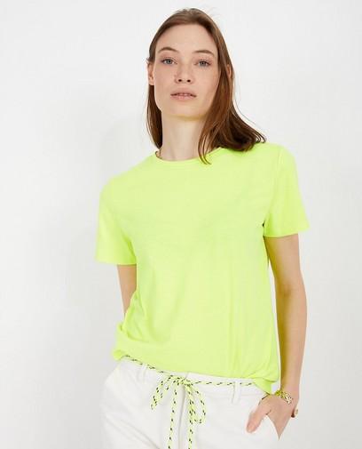 T-shirt jaune fluo Youh!