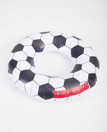 Ronde zwemband met voetbalmotief