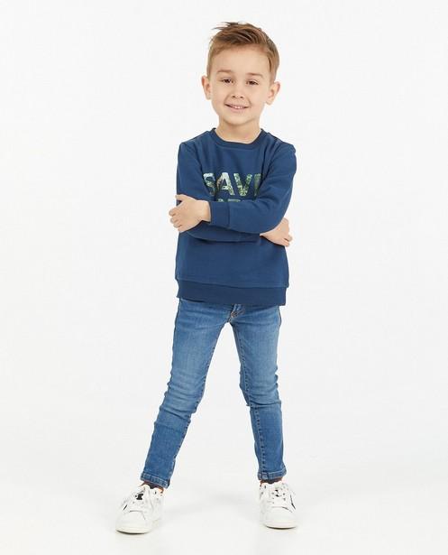 Lichtblauwe skinny JOEY, 2-7 jaar - stretch - JBC