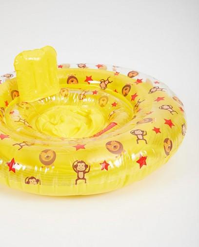 Ceinture de natation ronde pour bébé avec imprimé