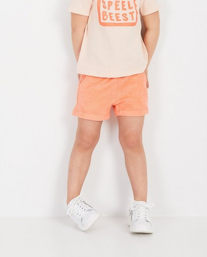 Sponzen short in roze BESTies