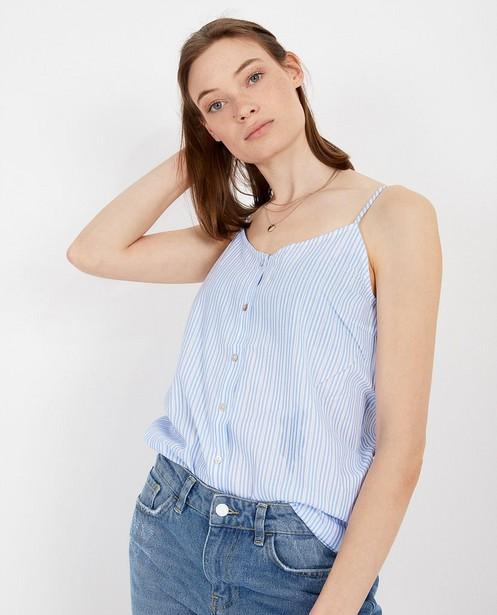 Hemden - Blauw-witte top Sora