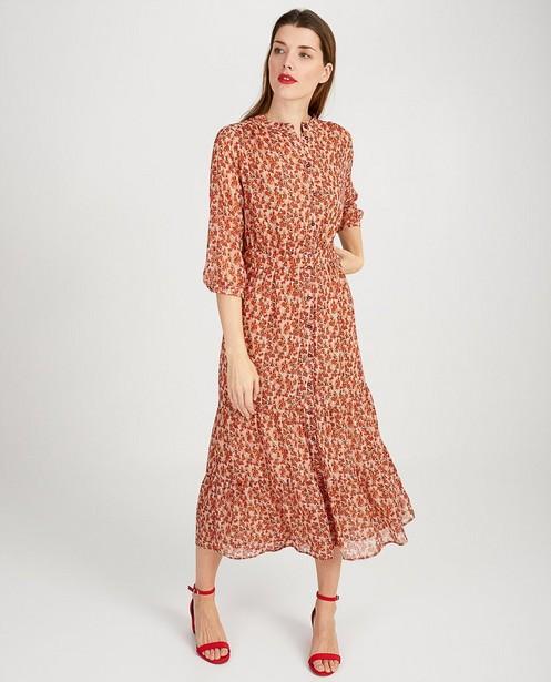Roze jurk met bloemenprint Sora - allover print - JBC