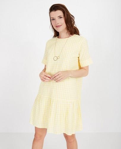 Gele jurk met strepen Youh!