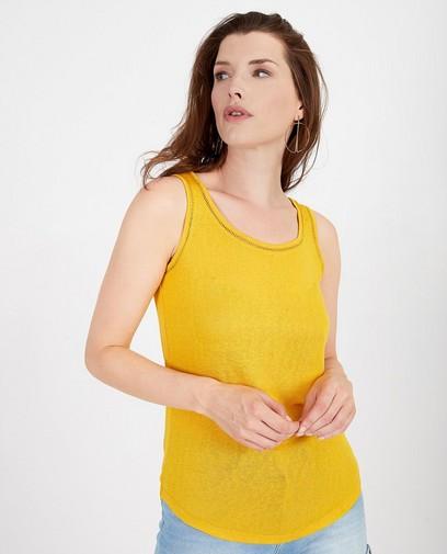 Top jaune Sora