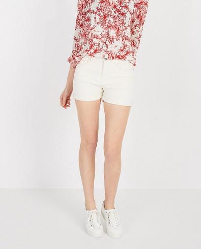 Witte short Karen Damen
