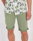 Shorts - Bermuda vert en coton bio