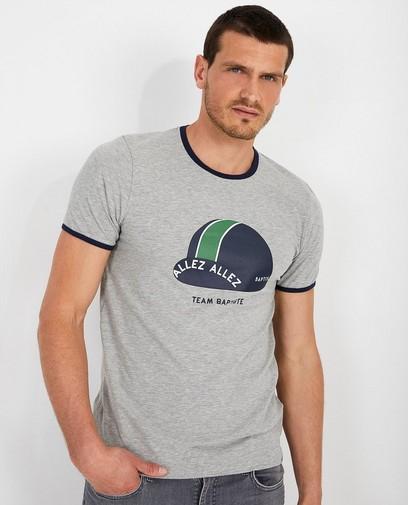 Grijs T-shirt met pet Baptiste (FR)