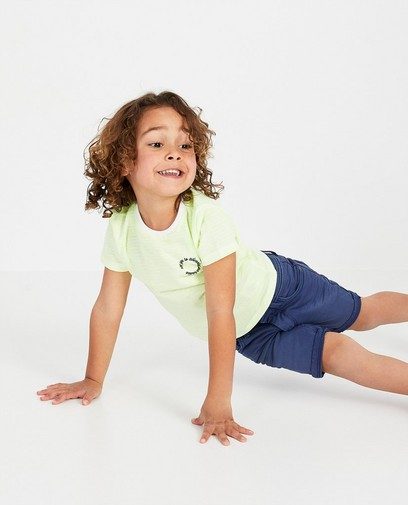 T-shirt à rayures jaunes, 2-7 ans