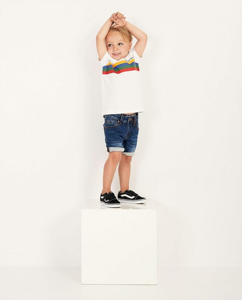 'coureur'-shirt Baptiste, 2-7 jaar - effen - Baptiste