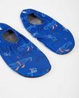 Blauwe antislip schoenen Slipstop - met print - Slipstop