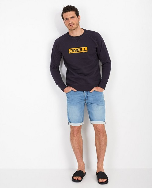 Donkergrijze sweater O'Neill - met opschrift - O'Neill