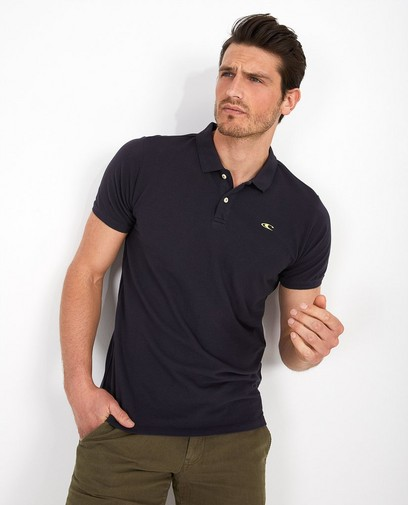 donkerblauwe polo O'Neill