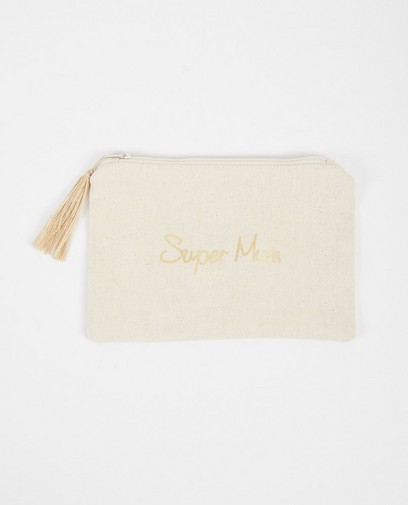 Pochette « Super Mum » Pieces