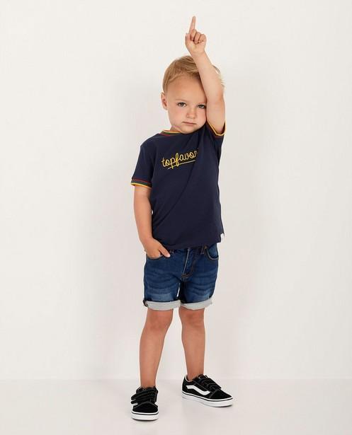 T-shirt bleu Baptiste, 2-7ans - topfavoriet - Baptiste