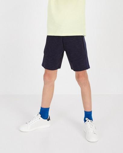 Blauwe sweatshort