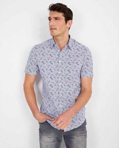 Wit hemd met print