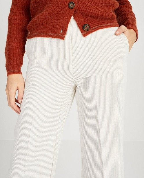 Pantalons - Pantalon blanc Ella Italia
