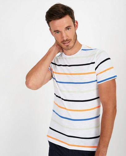 T-shirt met strepen League Danois