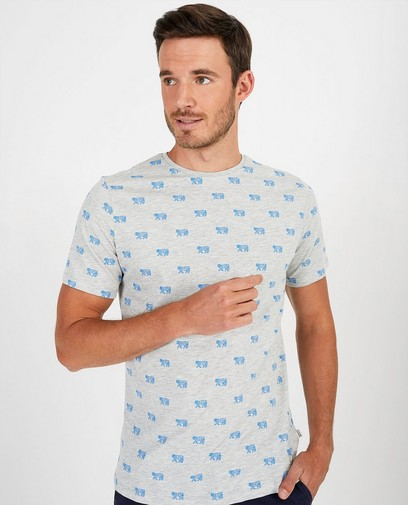 T-shirt met print League Danois