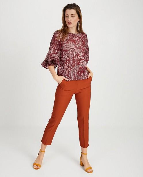 Pantalon habillé Ella Italia - brun - ella