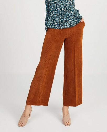 Pantalon rouille Ella Italia