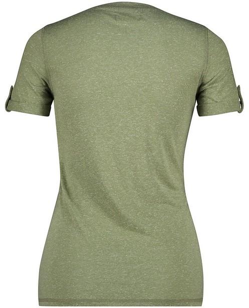 T-shirts - Top d'allaitement vert Mamalicious