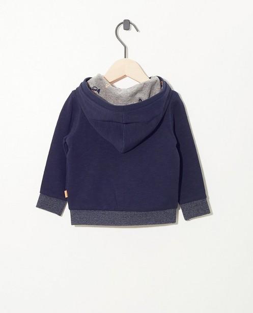 Strickjacken - Blauw vest