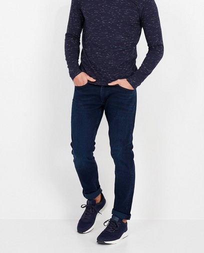 Donkerblauwe jeans Keith s.Oliver