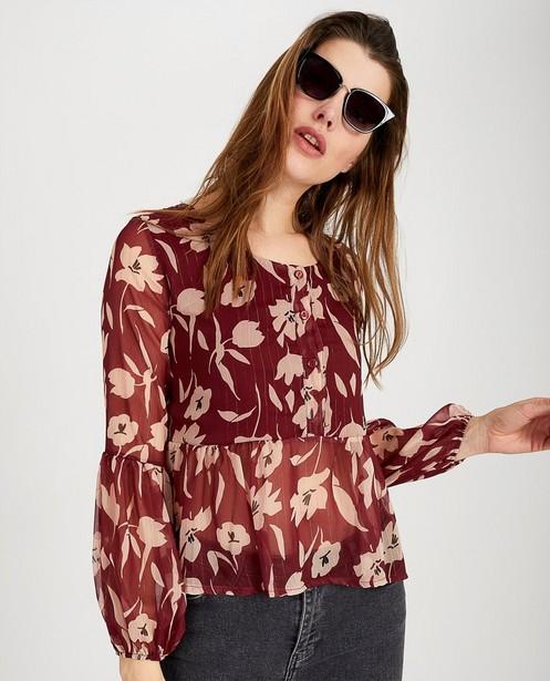 Hemden - Blouse met print Ella Italia