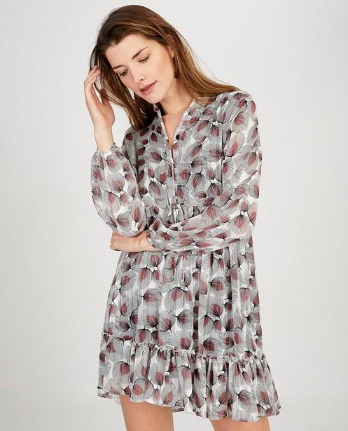 Robes - Witte jurk met print Ella Italia