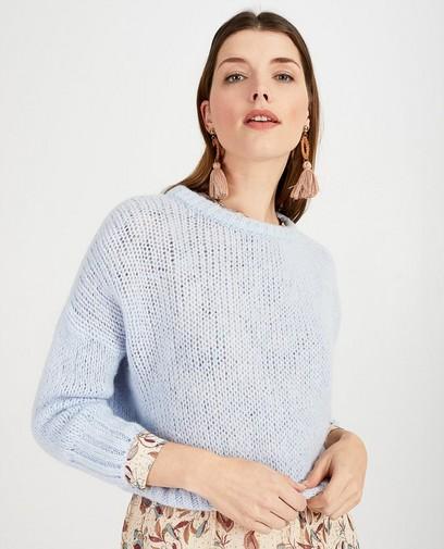 Pull bleu clair