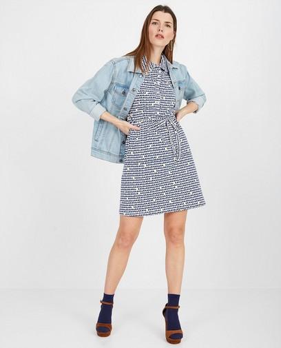 Blauw-witte jurk Froy en Dind