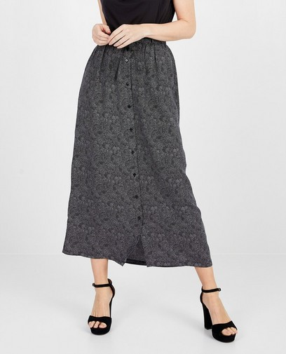 Jupe maxi noire Froy & Dind
