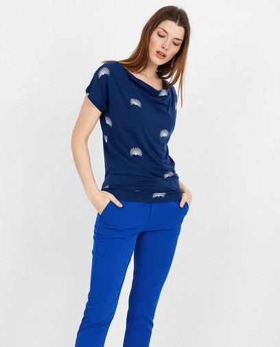 Donkerblauw T-shirt Froy en Dind