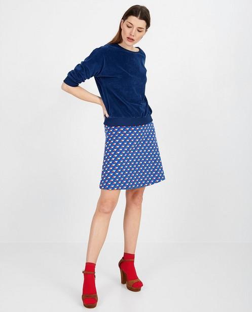 Blauwe blouse Froy en Dind - null - Froy en Dind