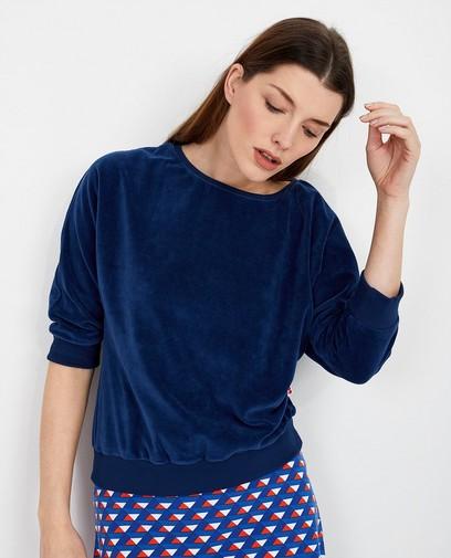 Blauwe blouse Froy en Dind