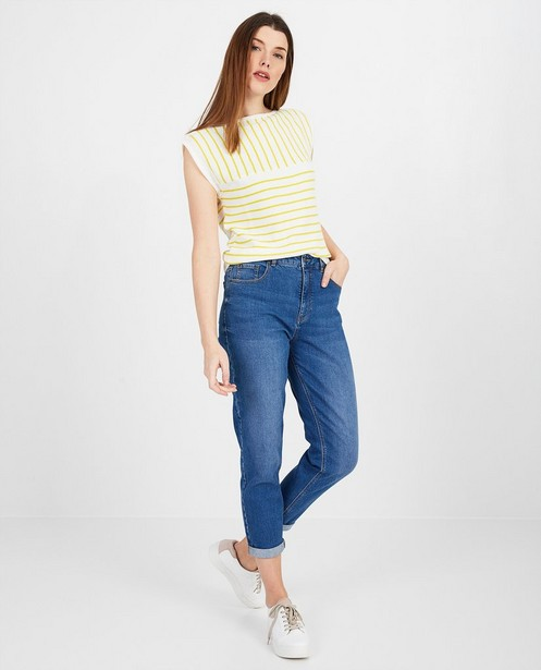 Wit shirt met strepen Froy en Dind - null - Froy en Dind