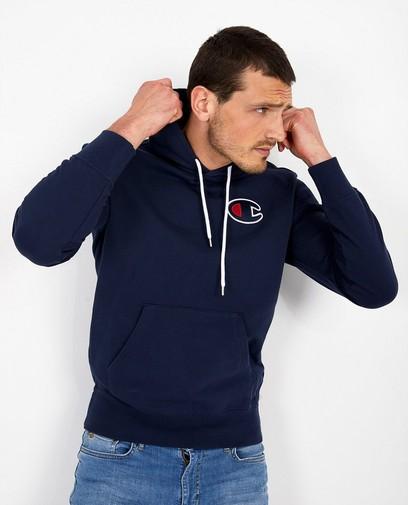 Blauwe hoodie Champion